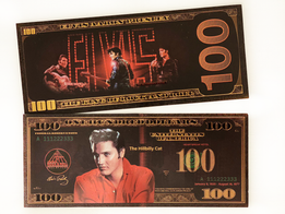 Elvis Presley $100 Commemorative Banknote