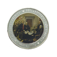 Declaration of Independence Commemorative Coins (New Design)