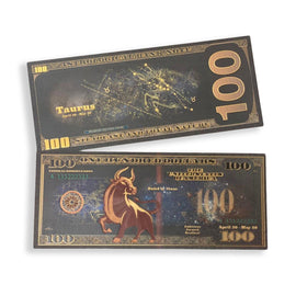 Taurus $100 Black Bills
