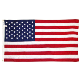 American USA Flag Deluxe Embroidered Stars 3' X 5'