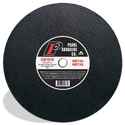 CUTTING DISCS LARGE DIAMETER PEARL ALUMINIUM OXIDE PREMIUM TYPE 1 FOR CHOP SAWS & STATIONARY SAWS
