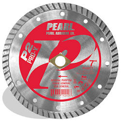 DIAMOND SAW BLADES FLAT CORE TURBO - GENERAL PURPOSE PEARL ABRASIVES