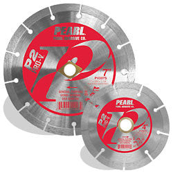 DIAMOND SAW BLADES SEGMENTED  P2 PRO-V™ GENERAL PURPOSE  PEARL ABRASIVES