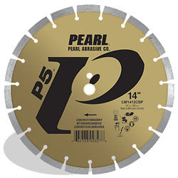 DIAMOND SAW BLADES SEGMENTED  P5™ FOR CONCRETE AND MASONRY PEARL ABRASIVES