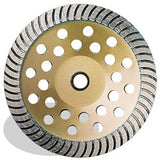 DIAMOND CUP WHEELS P5™ TURBO FOR GENERAL PURPOSE PEARL ABRASIVES