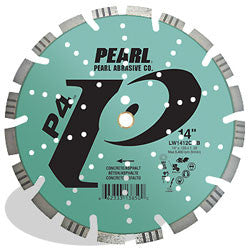 DIAMOND SAW BLADES SEGMENTED P4™ FOR CONCRETE AND ASPHALT COMBO BLADE PEARL ABRASIVES