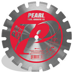 DIAMOND SAW BLADES SEGMENTED  P2 PRO-V™ FOR ASPHALT AND GREEN CONCRETE PEARL ABRASIVES