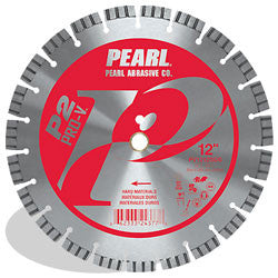 DIAMOND SAW BLADES SEGMENTED  P2 PRO-V™ FOR HARD MATERIALS PEARL ABRASIVES