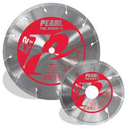 DIAMOND SAW BLADES TILE & STONE P2 PRO-V™ FOR PORCELAIN PEARL ABRASIVES