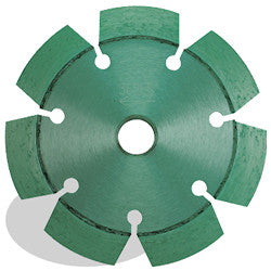 DIAMOND SAW BLADES CRACK-CHASER™ P4™ SEGMENTED PEARL ABRASIVES