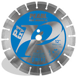 DIAMOND SAW BLADES SEGMENTED  P1 EXV™ FOR CONCRETE AND MASONRY PEARL ABRASIVES