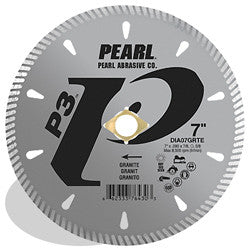 DIAMOND SAW BLADES TILE & STONE P3™ FOR GRANITE  PEARL ABRASIVES