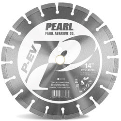 DIAMOND SAW BLADES SEGMENTED P-EV™ FOR CONCRETE AND MASONRY PEARL ABRASIVES