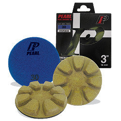 DIAMOND POLISHING PAD DRY CONCRETE  PEARL ABRASIVES