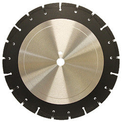 DIAMOND SAW BLADES SEGMENTED  PROFESSIONAL WET ASPHALT BLADE - SOFT BOND PEARL ABRASIVES