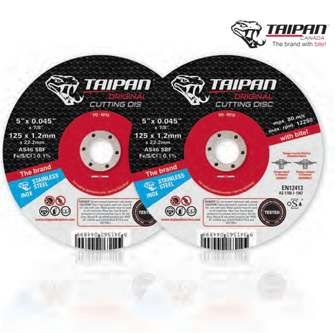 CUTTING-DISCS-'ORIGINAL'-TAIPAN
