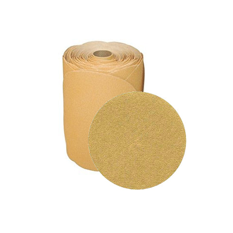 SANDPAPER DISCS STICK-ON