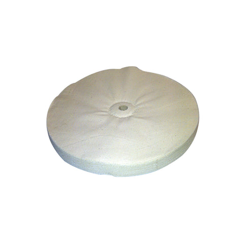 WHITE LOOSE SEWN BUFFING WHEELS