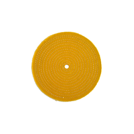 YELLOW SEWN BUFFING WHEELS