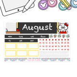 B6 Monthly Kit (Print Pression)