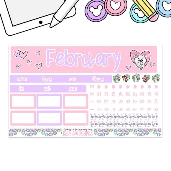 February Print Pression B6 Monthly Kit (2nd Generation)