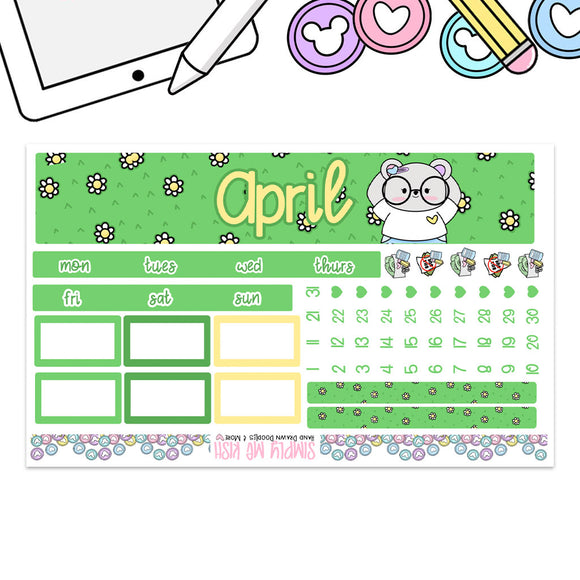 April Print Pression B6 Monthly Kit (2nd Generation)