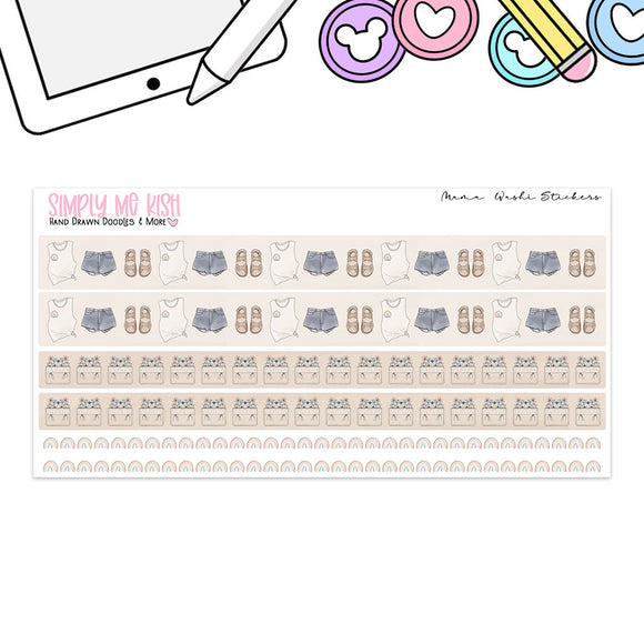 Mama Washi Stickers