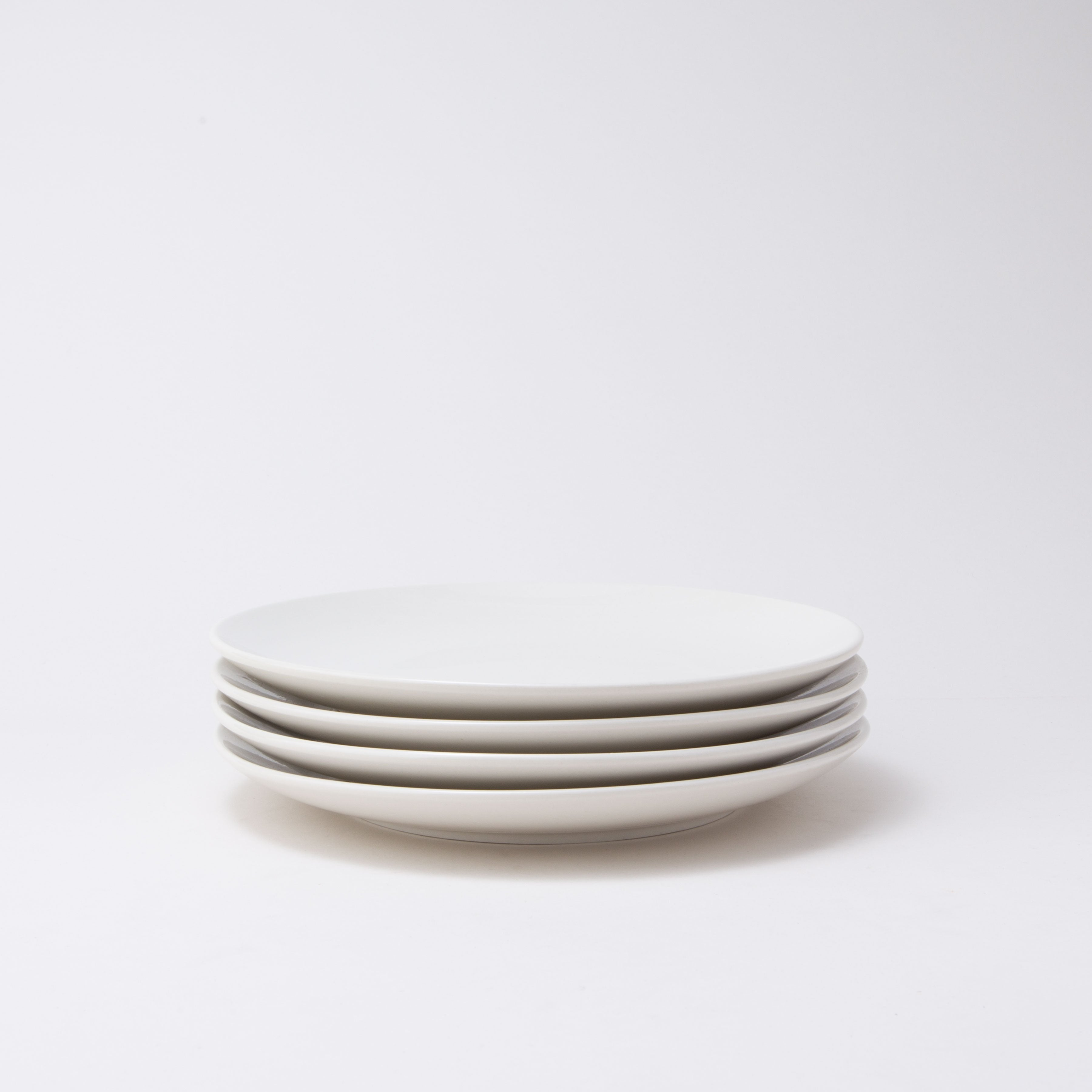 Damek White Dinnerware Set