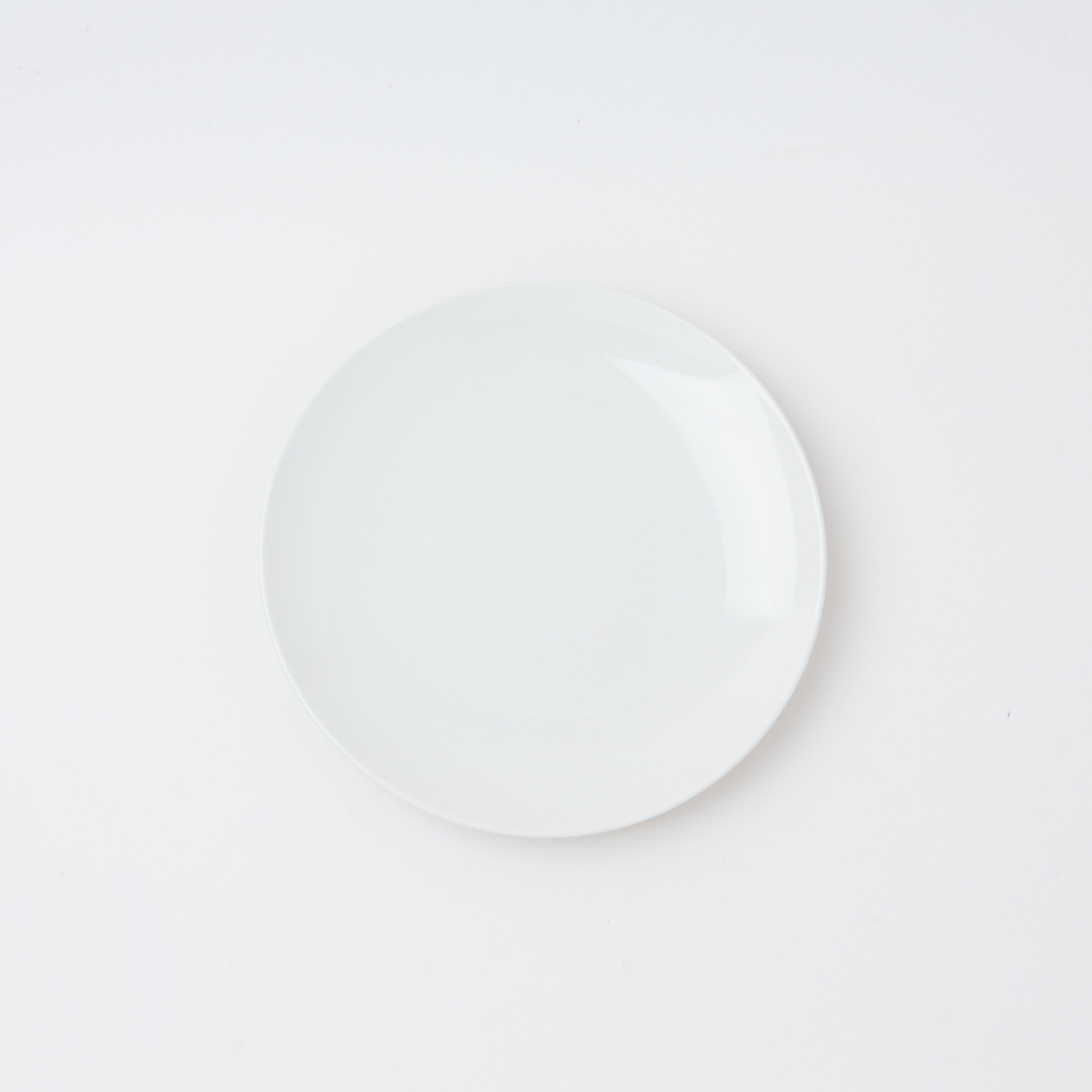 Damek White Medium Plate (Single Replacement)