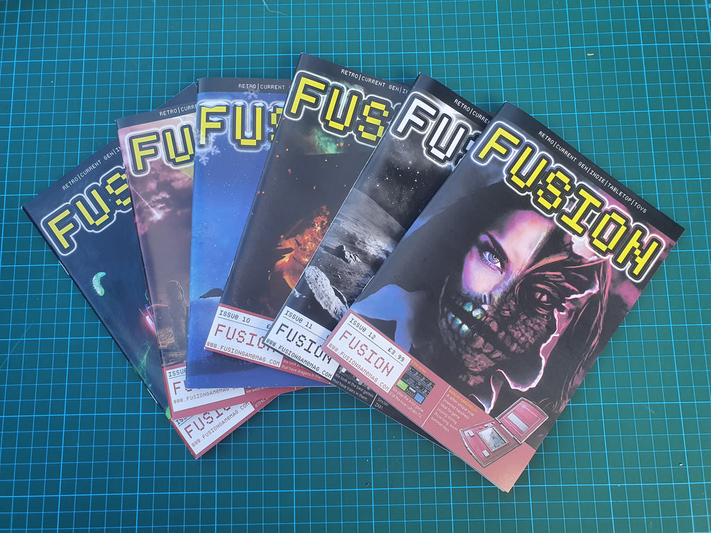 Issue 1 to 12 of Fusion Magazine