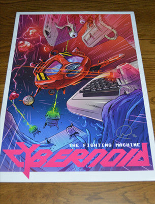 Cybernoid A3 Signed Poster - Fusion Retro Books