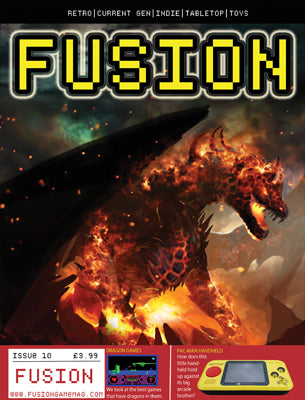 FUSION - Gaming Magazine - Issue #10 - Fusion Retro Books