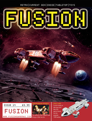 PREORDER - FUSION - Gaming Magazine - Issue #14