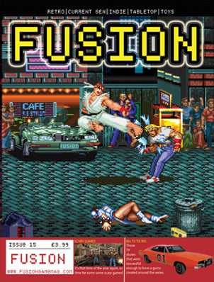 Pre-order FUSION - Gaming Magazine - Issue #15