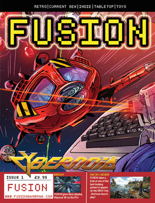 PDF - FUSION - Gaming Magazine - Issue #1 - Fusion Retro Books