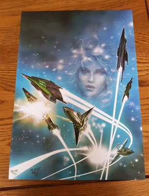 A3 Crash Issue 28 cover - signed - Fusion Retro Books