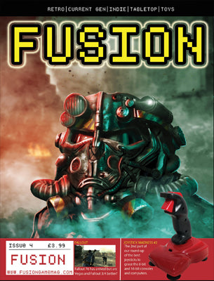 FUSION - Gaming Magazine - Issue #4 - Pre-order - Fusion Retro Books
