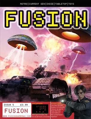FUSION - Gaming Magazine - Issue #5 - Fusion Retro Books