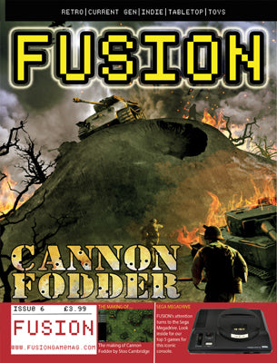 FUSION - Gaming Magazine - Issue #6 -PREORDER - Fusion Retro Books