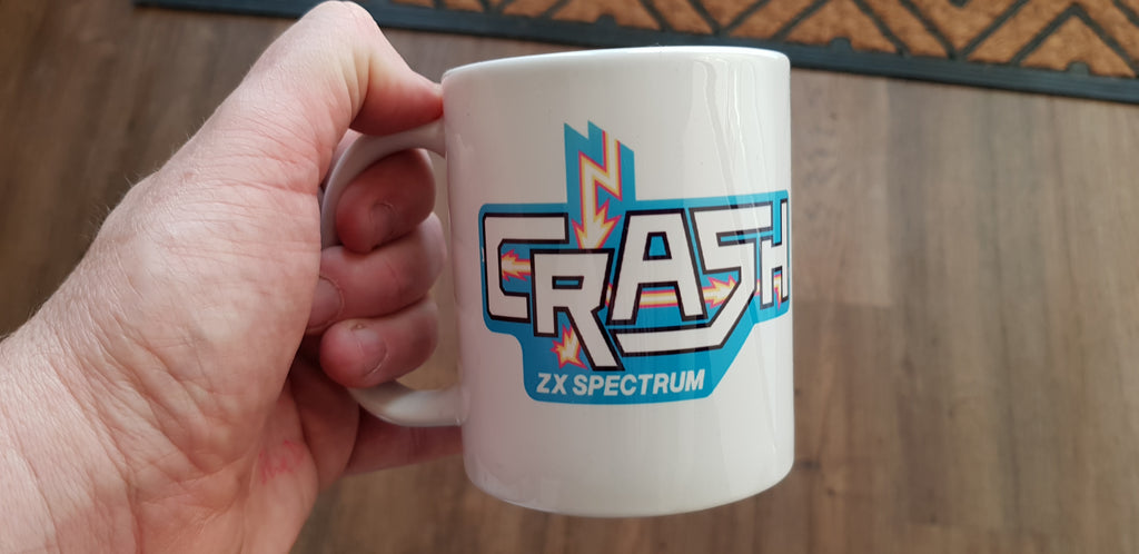 Crash  Mug - Fusion Retro Books