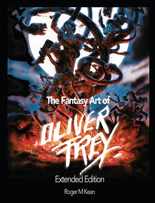 The Fantasy Art of Oliver Frey - Fusion Retro Books