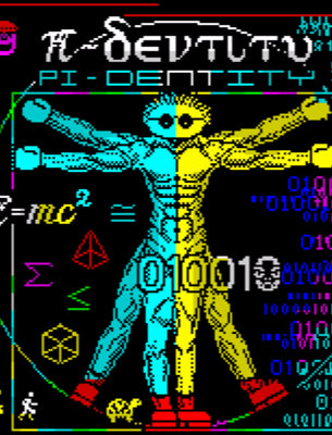 Pi-Dentity - ZX Spectrum 48K - Fusion Retro Books