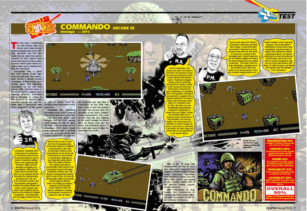 ZZap! 64 Annual 2019 - Fusion Retro Books