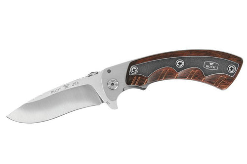 Buck Knives Open Season Folding Skinner  S30V Rosewood Handle