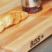 "John Boos - Boos Block Maple R-Board 1-1/2"" Thick - Reversible  24"" x 18"" x 1.5"" - Wulff Cutlery & More"