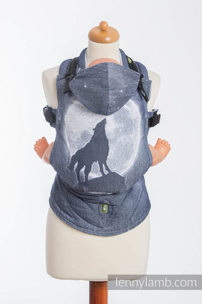 LennyLamb - Buckle Carrier - MOONLIGHT WOLF - Toddler size