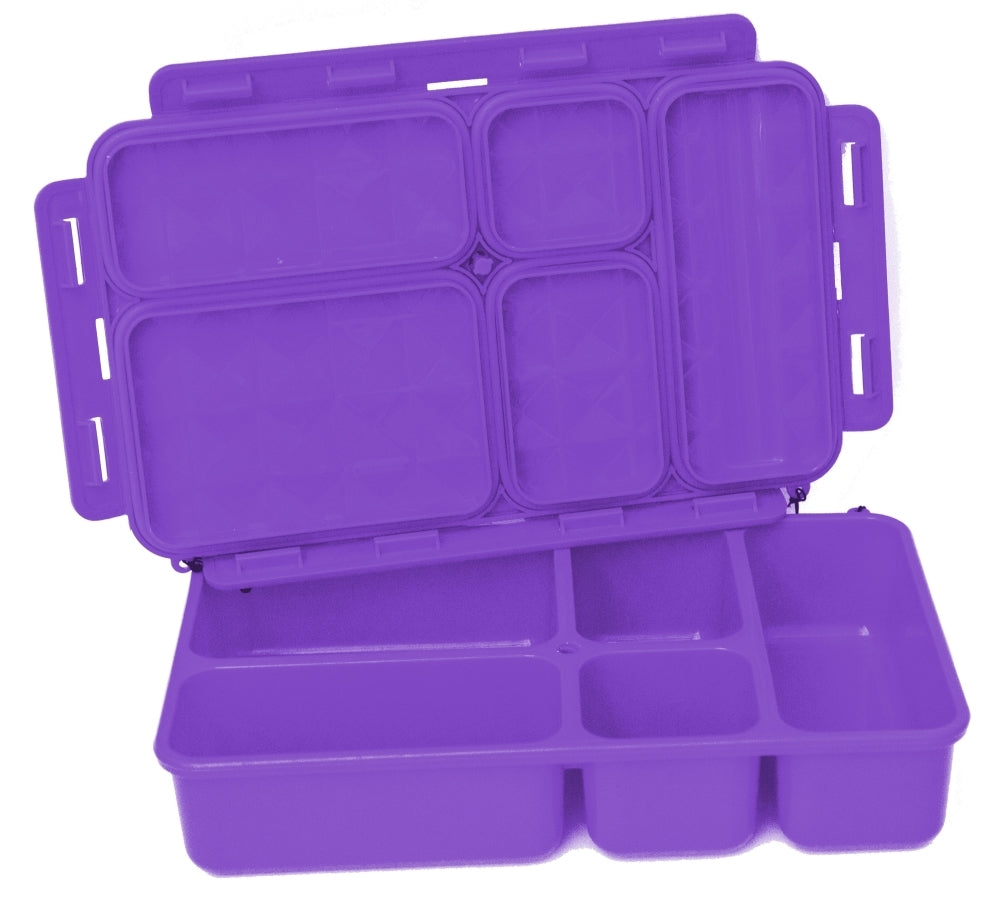 Go Green Food Box - Purple