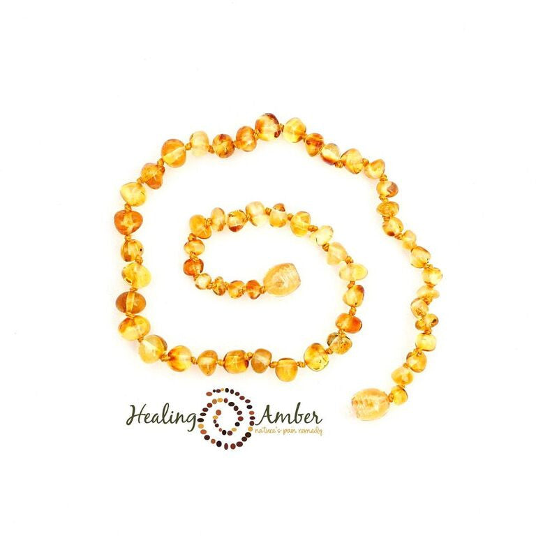 Healing Amber - Liquid Gold ~ Circle ~ 13 inches