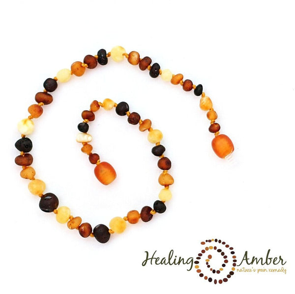 Healing Amber - Raw Multi ~ Circle ~ 13 inches