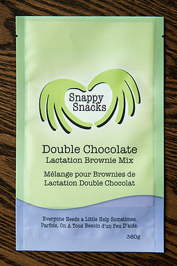 Snappy Snacks -Lacation Brownie Mix - Double Chocolate